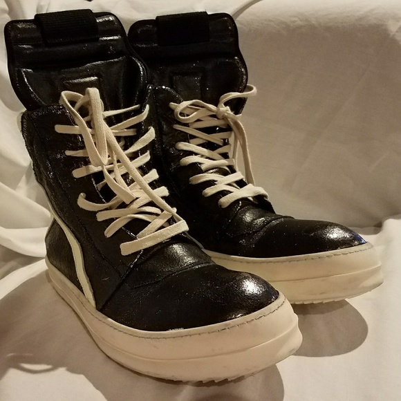 detailed pictures 45312 aea8f Well Worn Rick Owens Geobasket Size 42.5 Euro